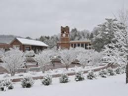 WCU snow